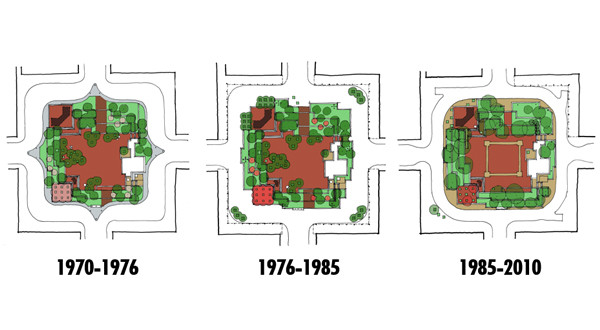 Park Central Square Over the Years