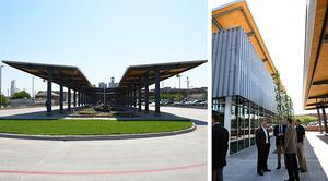 Bus Transit Center Exterior