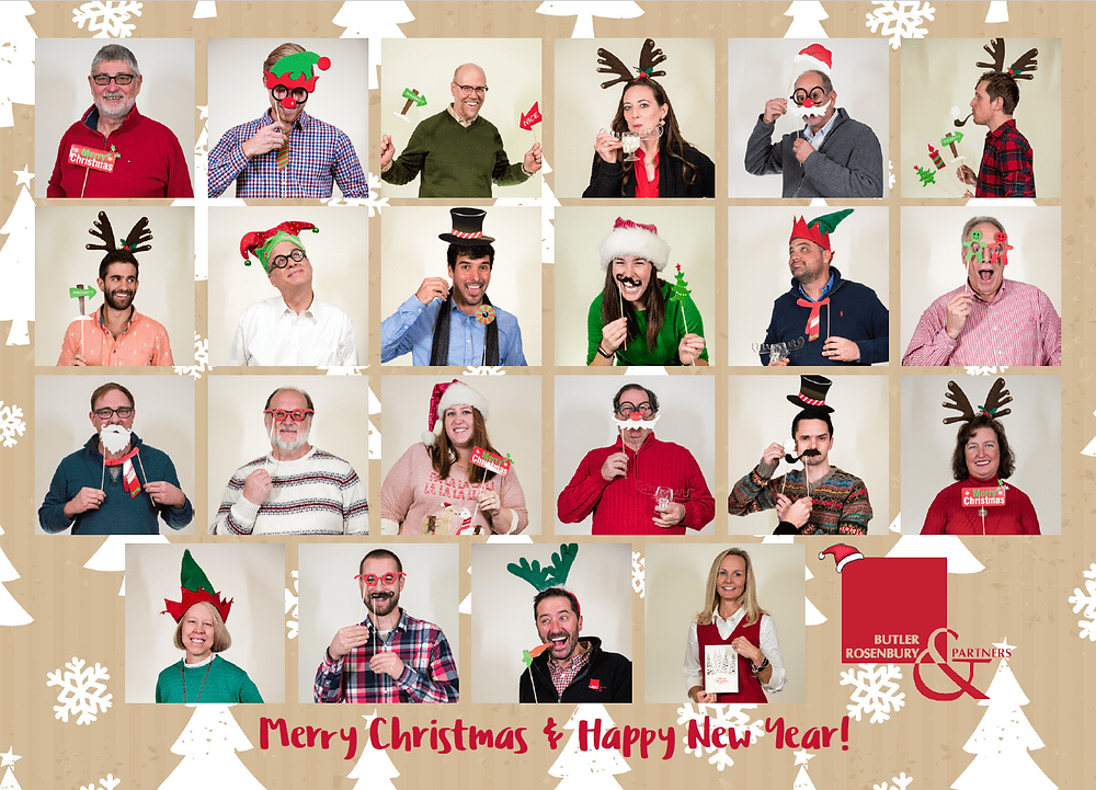Season's Greeting from Butler, Rosenbury & Partners!