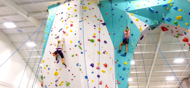 Rock climbers at Zenith