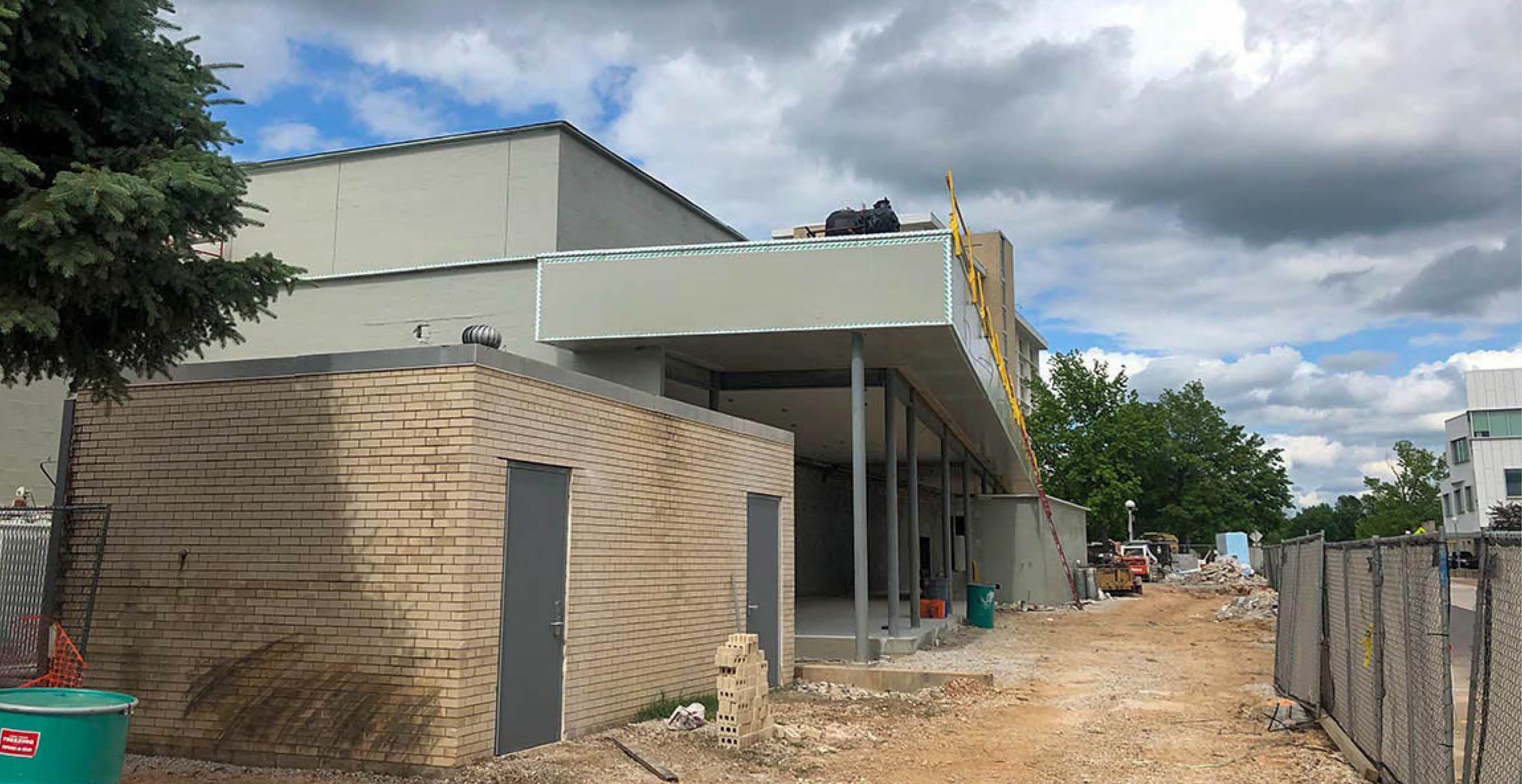 Greenwood Multipurpose Addition Construction Update