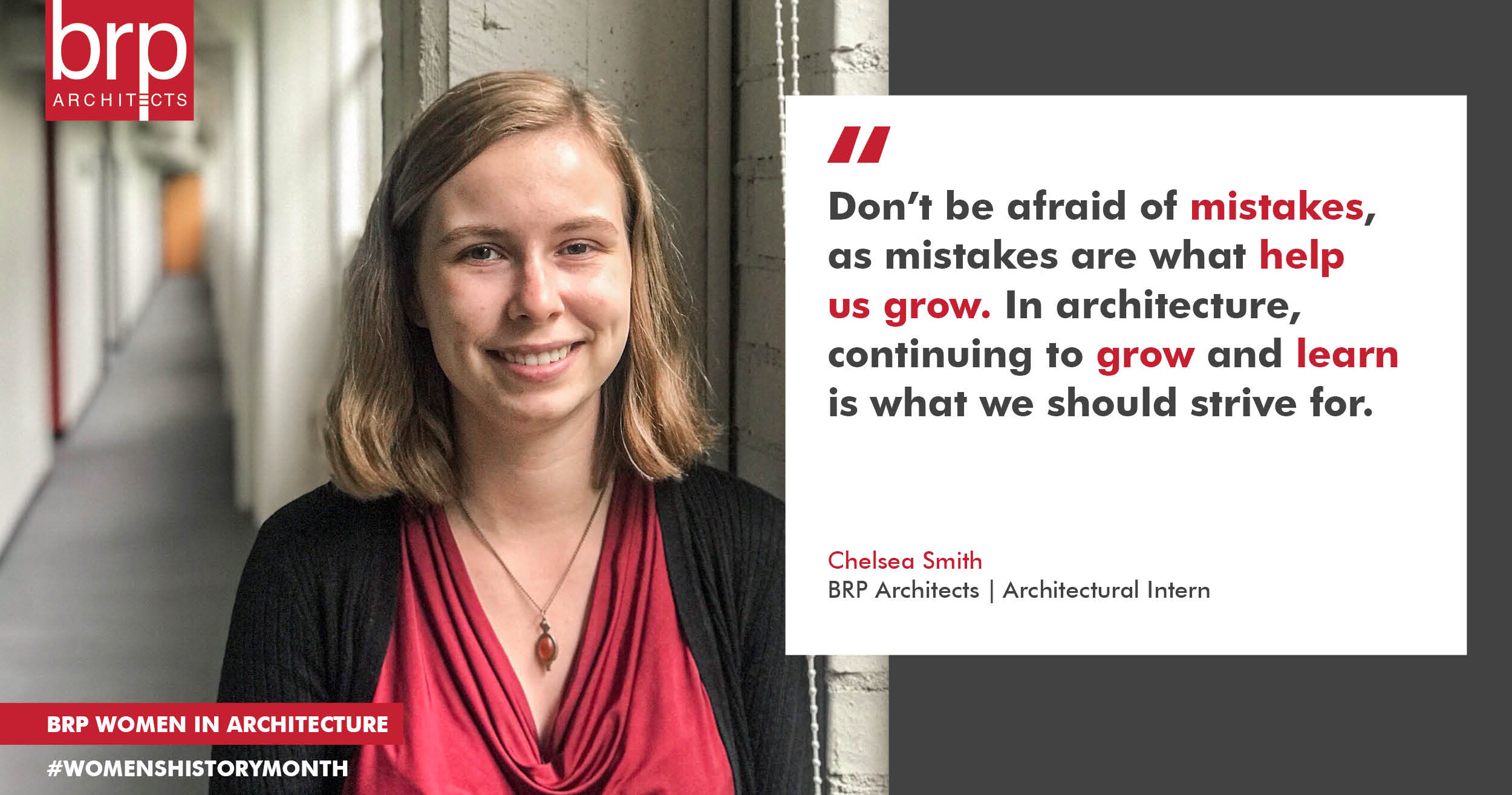 Women's History Month Chelsea Smith quote