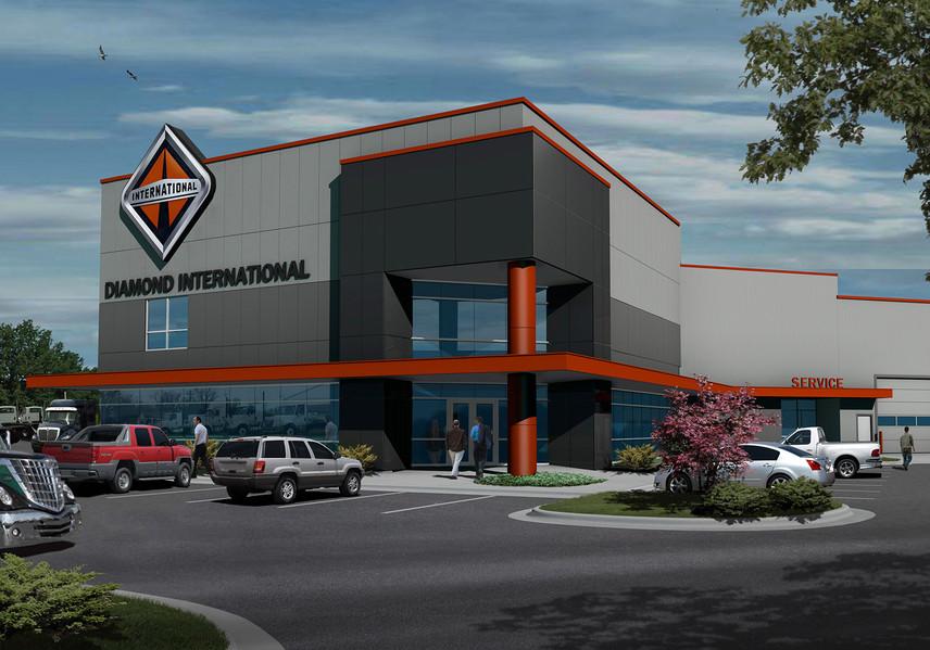 Diamond Internatinal New & Used Truck Sales Facility