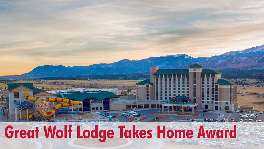 Great Wolf Lodge Takes Home Award