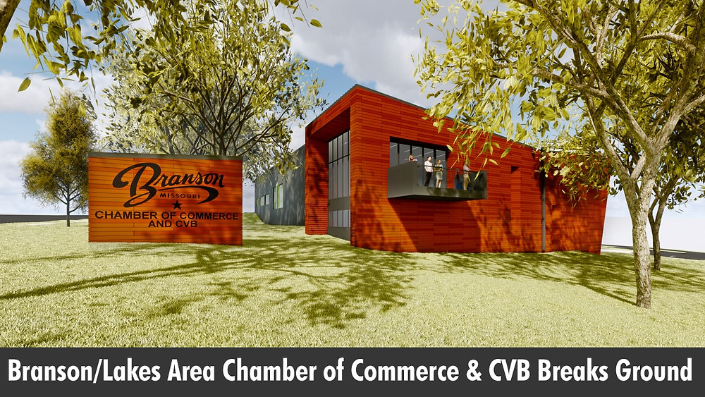 Branson/Lakes Area Chamber of Commerce & CVB Breaks Ground