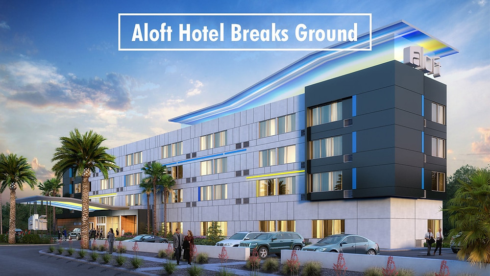 Aloft Hotel Breaks Ground