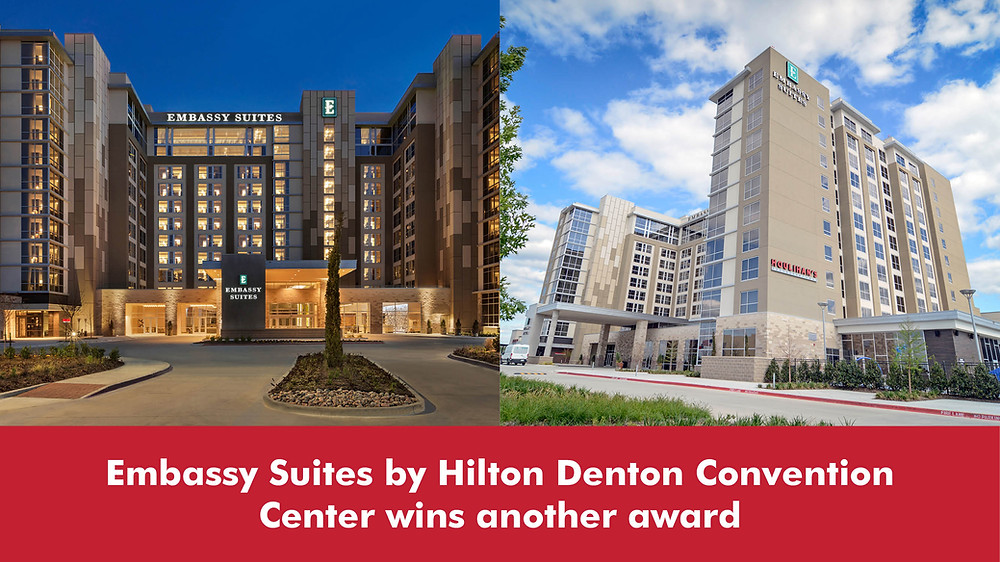 Embassy Suites by Hilton Denton Convention Center wins another award
