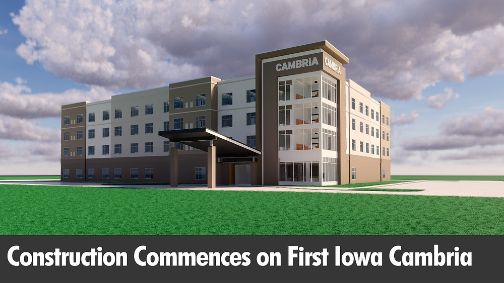 Construction Commences on First Iowa Cambria