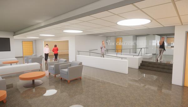 Cox College - Lobby