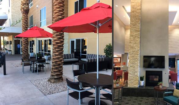 Towne Place Suites - Lobby & Patio