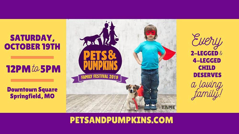 Pets & Pumpkins Family Festival