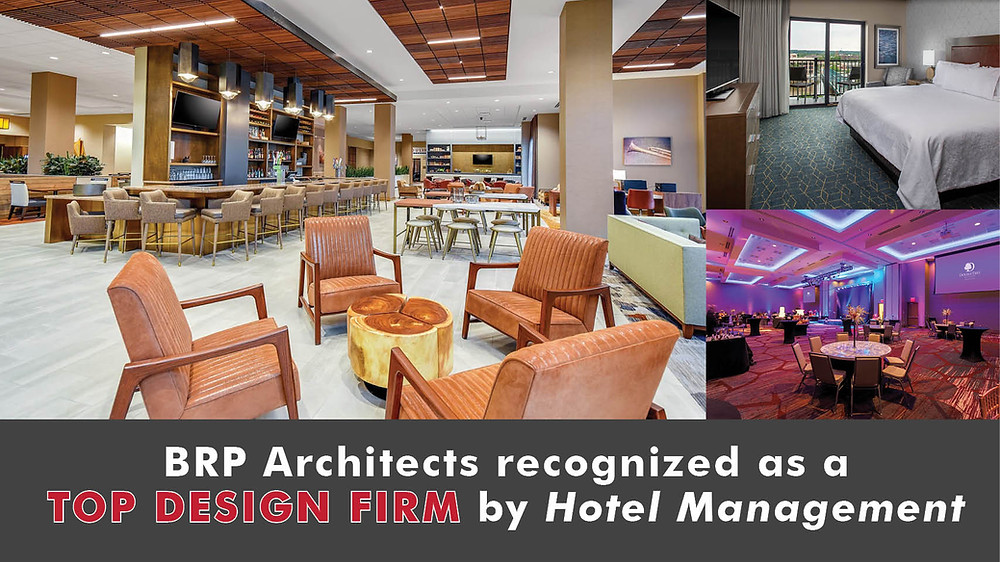 BRP Architects recognized as a Top Design Firm by Hotel Management