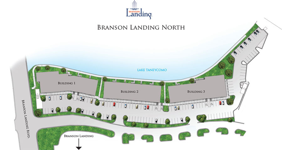 Branson Landing North Map