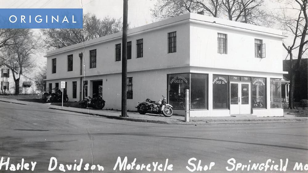 Original Harley Davidson Motorcycle Shop Springfield, MO