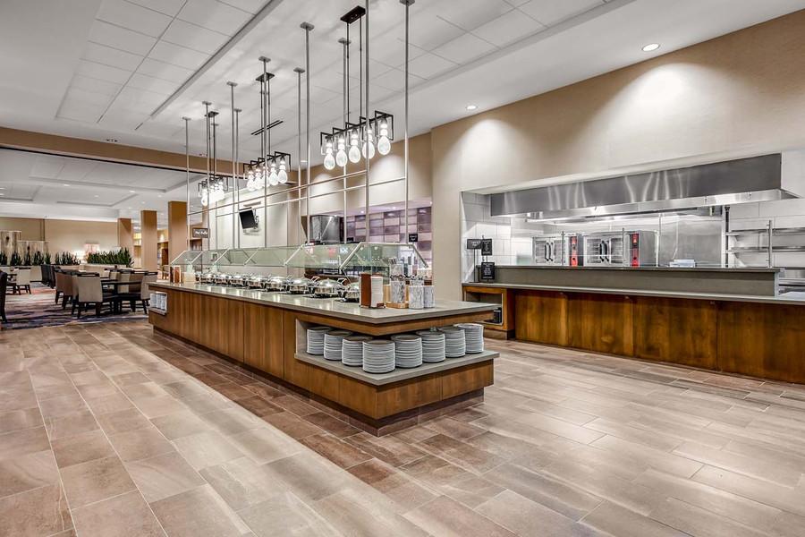 Embassy Suites Jonesboro Red Wolf Convention Center Breakfast Bar