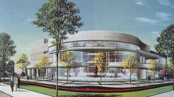 Juanita K. Hammons Hall Rendering