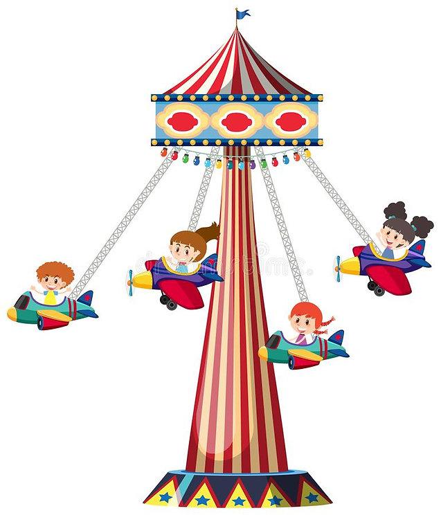 happy-children-riding-airplane-swing-ill