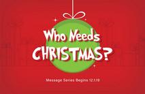Christmas Church Postcard 2140