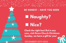 Christmas Church Postcard 2134