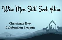 Christmas Church Postcard 2121