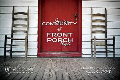 Church Launch Card CL2102