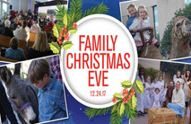Christmas Church Postcard 2122