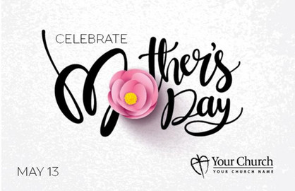 Mother's Day Church Postcards