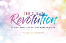 Christmas Church Postcard 2144