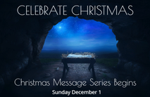 Christmas Church Postcard 2136