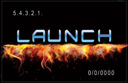 Church Launch Card CL2107
