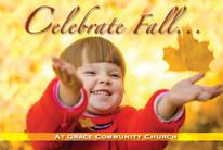 Fall Postcard FP2111