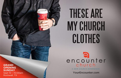 Positional Church Postcards