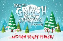 Christmas Church Postcard 2150