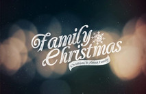 Christmas Church Postcard 2124