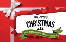 Christmas Church Postcard 2141