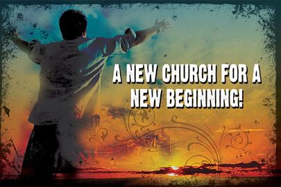 Church Launch Card CL2116