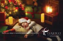 Christmas Church Postcard 2128