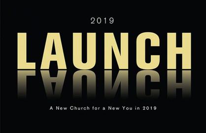 Church Launch Card CL2112