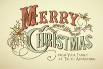 Christmas Church Postcard 2108