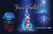 Christmas Church Postcard 2119