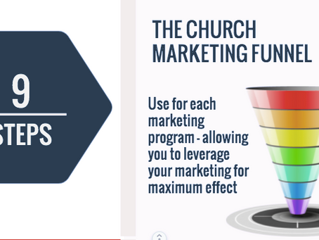 The Church Marketing Funnel. Leveraging your Marketing for Maximum ROI.