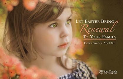 Easter Card EC2130