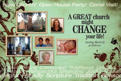 Church Launch Card CL2111
