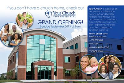 Church Launch Card CL2104
