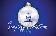 Christmas Church Postcard 2105