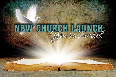 Church Launch Card CL222
