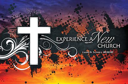 Church Launch Card CL2105