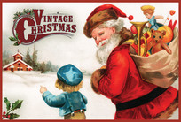 Christmas Church Postcard 2145