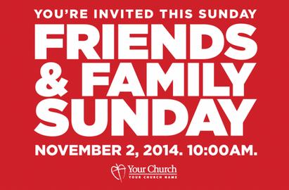 Friends Sunday Church Postcards
