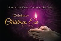 Christmas Church Postcard 2148